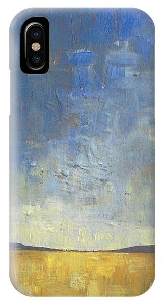 Abstract Landscape iPhone Case - Golden Glow by Vesna Antic
