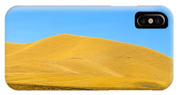 Golden Hill IPhone Case