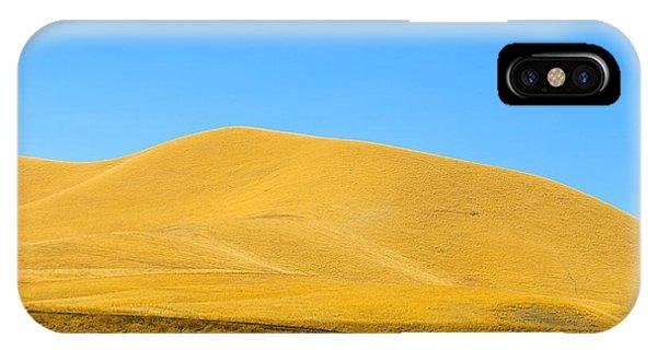 Golden Hill IPhone Case