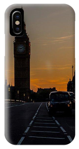 Golden Hour Big Ben In London IPhone Case