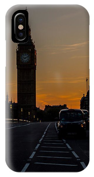 Golden Hour Big Ben In London IPhone Case