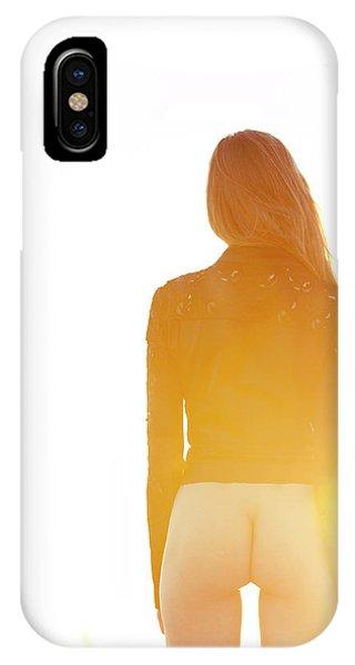 Golden Hour Girl IPhone Case