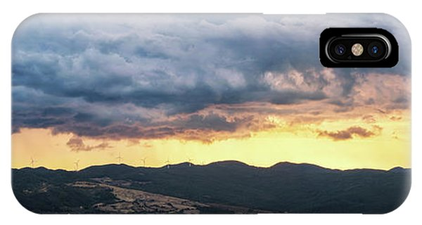 Golden Hour In Volterra IPhone Case