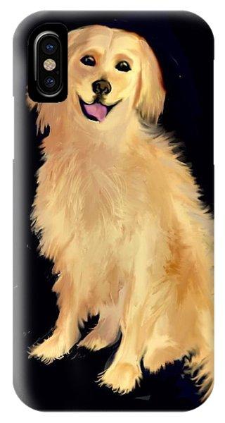 Golden Lab IPhone Case