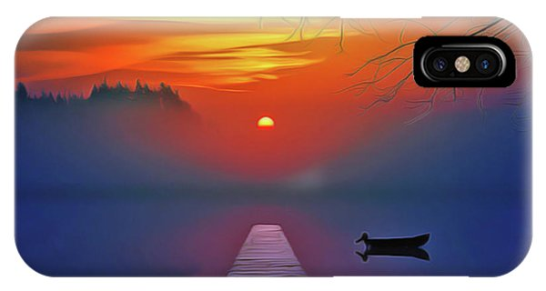 iPhone Case - Golden Lake by Harry Warrick