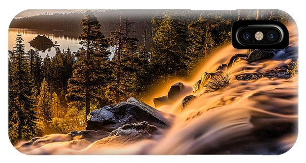 Golden Light By Mike Breshears IPhone Case