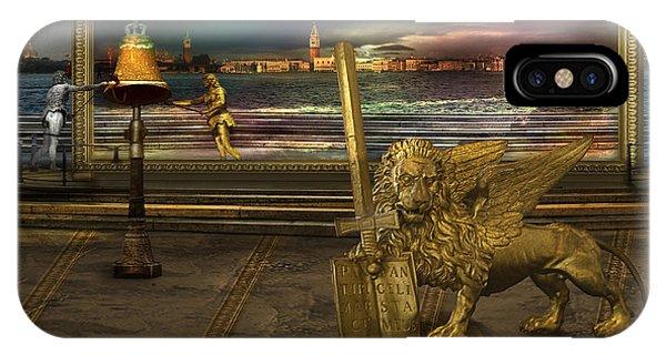 Golden Lion From Alternative Earth Phone Case by Desislava Draganova
