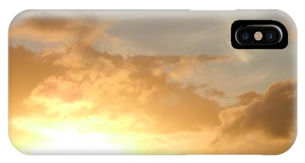 Golden Oahu Sunset IPhone Case