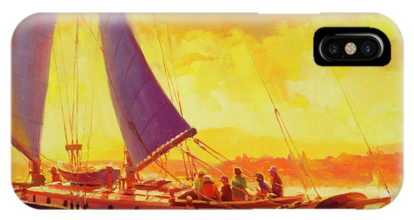 Pacific Ocean iPhone Case - Golden Opportunity by Steve Henderson