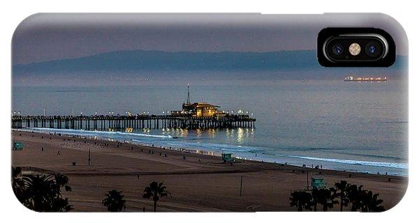 Golden Pier IPhone Case