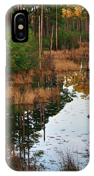 Golden Pond IPhone Case