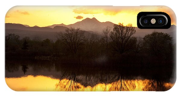 Golden Ponds Longmont Colorado IPhone Case