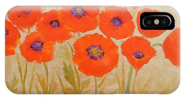 Magical Poppies IPhone Case