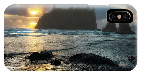 IPhone Case featuring the photograph Golden Ruby by Expressive Landscapes Fine Art Photography by Thom