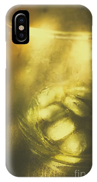 Liquor iPhone Case - Golden Saloon Afternoon by Jorgo Photography - Wall Art Gallery