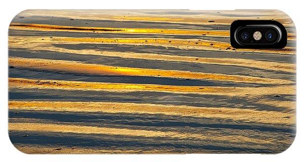 Golden Sand On Beach IPhone Case