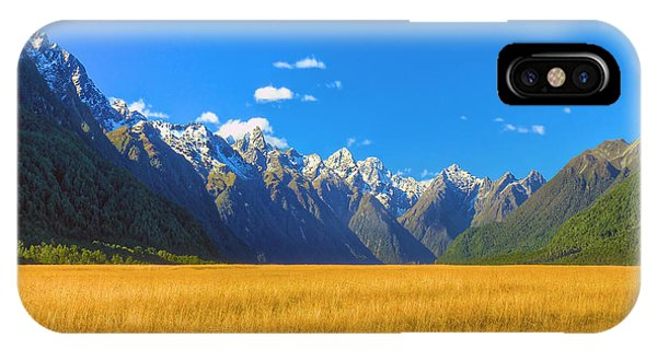 Golden Sea IPhone Case