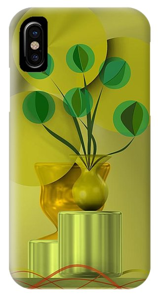 Golden Still Life IPhone Case