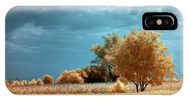 IPhone Case featuring the photograph Golden Summerscape by Helga Novelli