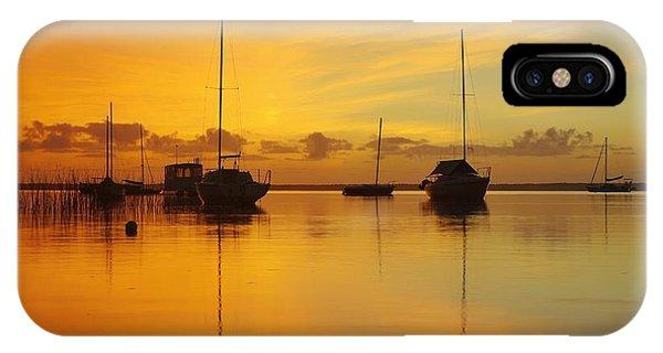Golden Sunrise At Boreen Point IPhone Case