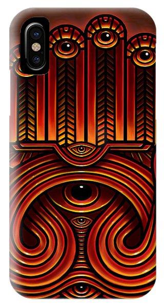 Golden Teacher 10 Phone Case by George Coghill