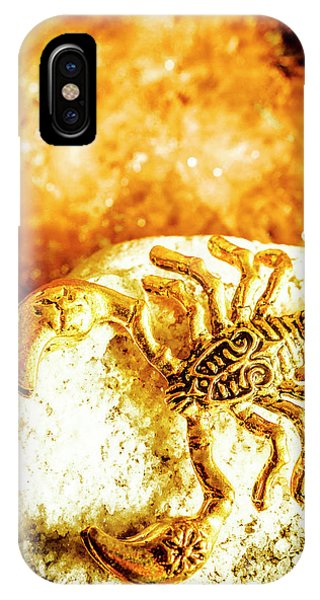 Jewelery iPhone Case - Golden Treasures by Jorgo Photography - Wall Art Gallery
