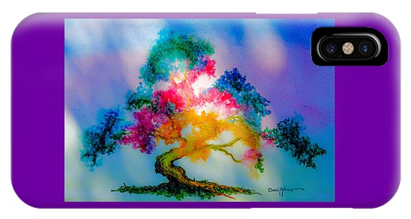 Da183 Golden Tree Daniel Adams IPhone Case