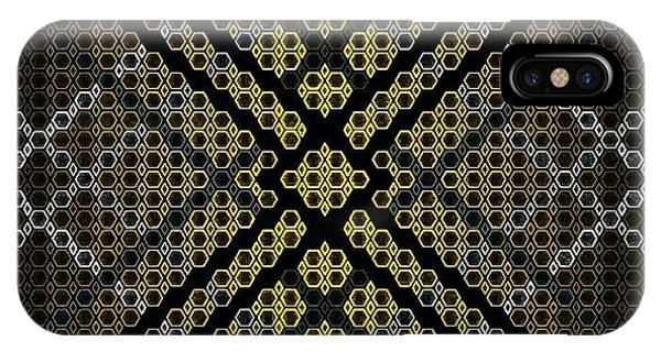 iPhone Case - Golden Tri by Lisa Marie Towne