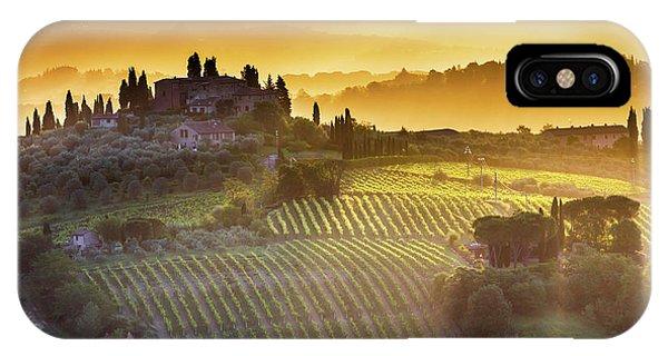 Golden Tuscany IPhone Case