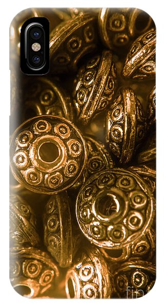 Saucer iPhone Case - Golden Ufos From Egyptology  by Jorgo Photography - Wall Art Gallery