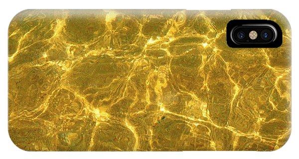 Golden Wave IPhone Case