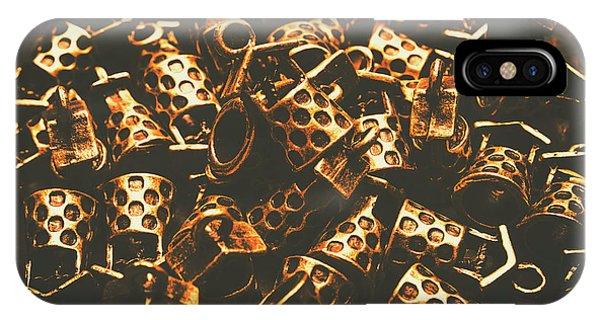 Pendant iPhone Case - Golden Wells by Jorgo Photography - Wall Art Gallery