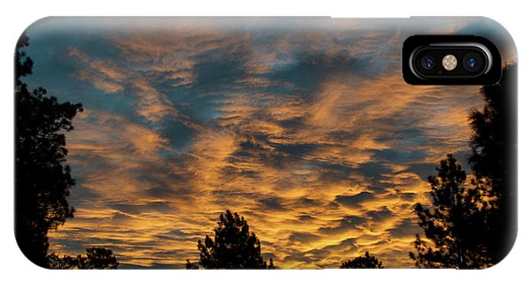 IPhone Case featuring the photograph Golden Winter Morning by Jason Coward