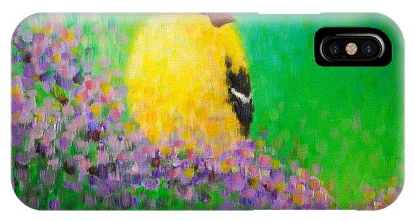 Goldfinch II IPhone Case