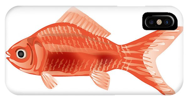 iPhone Case - Goldfish by Moto-hal