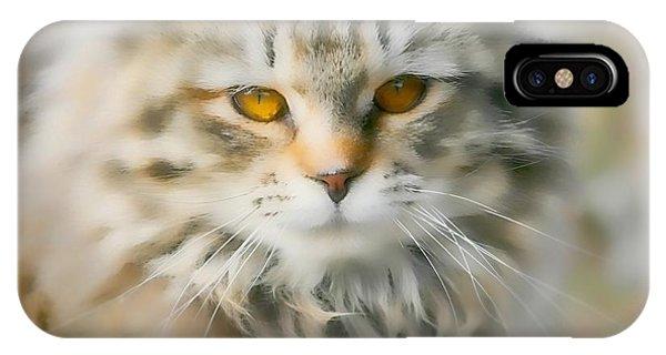 Goldie Golden Eyes IPhone Case