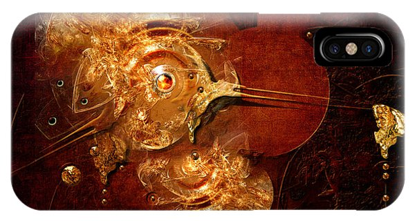 IPhone Case featuring the digital art Goldsmith by Alexa Szlavics