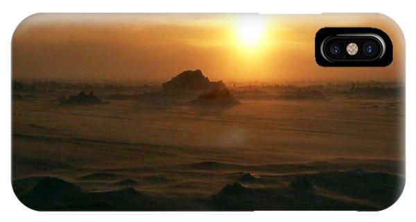 Golen Sunset Canada IPhone Case
