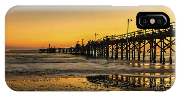 Goleta Sunset IPhone Case
