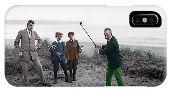 Golf 1907 Dream IPhone Case