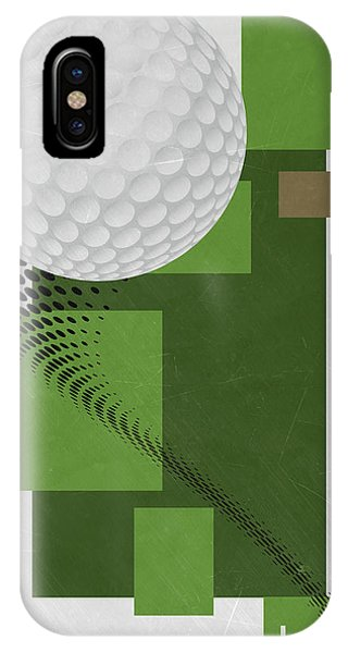 Golf Ball iPhone Case - Golf Art Par 4 by Joe Hamilton
