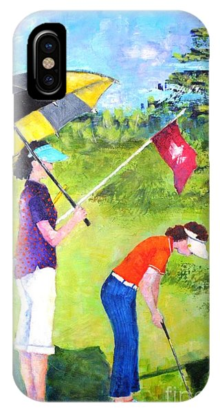 Golf Buddies #3 IPhone Case