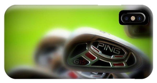 Golf Clubs 2 IPhone Case