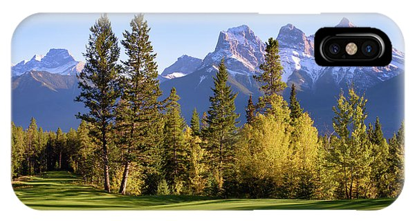 Silvertip Golf Course IPhone Case