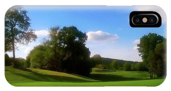Golf Course Landscape IPhone Case