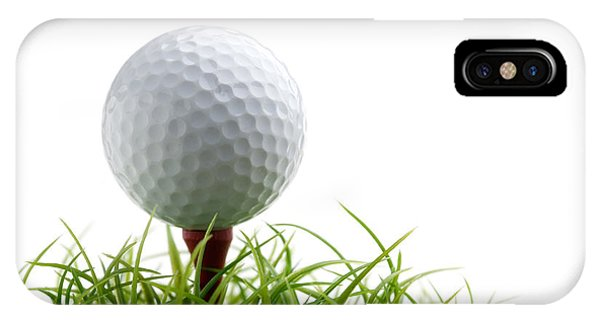 Golf Ball iPhone Case - Golfball by Kati Finell