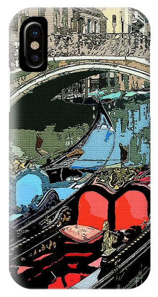 Gondolas Fresco  IPhone Case