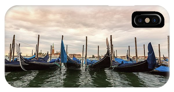Gondolas In Venice, Italy IPhone Case