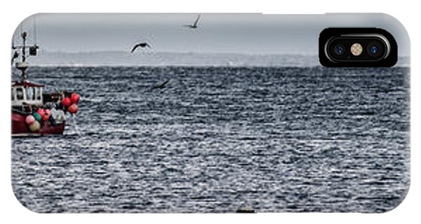 Swanage iPhone Case - Gone Fishing  by Nigel Jones