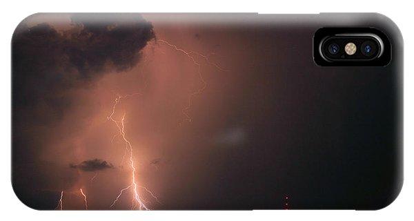 Gone In A Flash IPhone Case